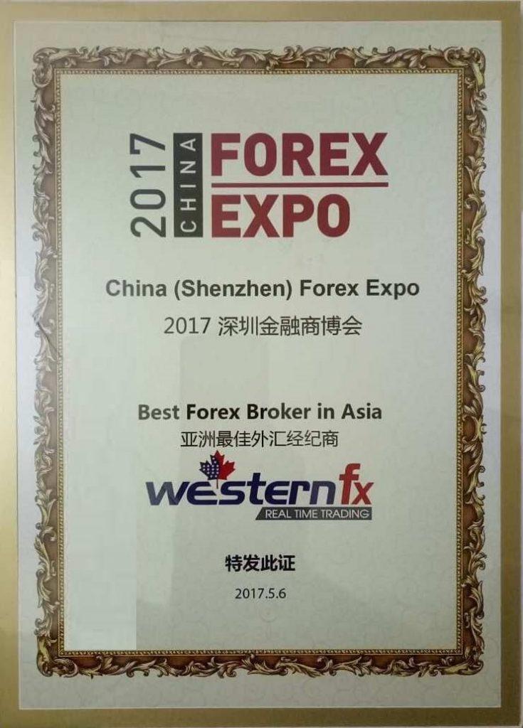 WesternFX award
